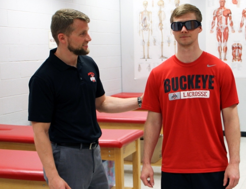 UNIVERSITE DE L'OHIO – USA (Wexner Medical Center) : Les lunettes stroboscopiques utilisées en rééducation suite à une lésion du ligament croisé antérieur (genou)